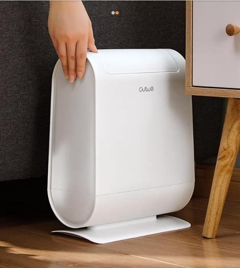 垃圾桶家用客廳臥室按壓式北歐垃圾桶廚房衛生間分類垃圾桶大號有蓋紙簍