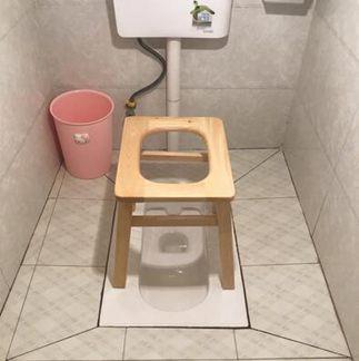 老人坐便椅實木孕婦坐便凳木質坐便器簡易行動馬桶椅廁所老年家用全館促銷限時折扣