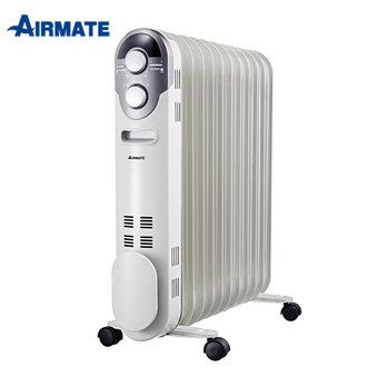 【實演機】AIRMATE 艾美特 11片葉片式電暖器 HU1125