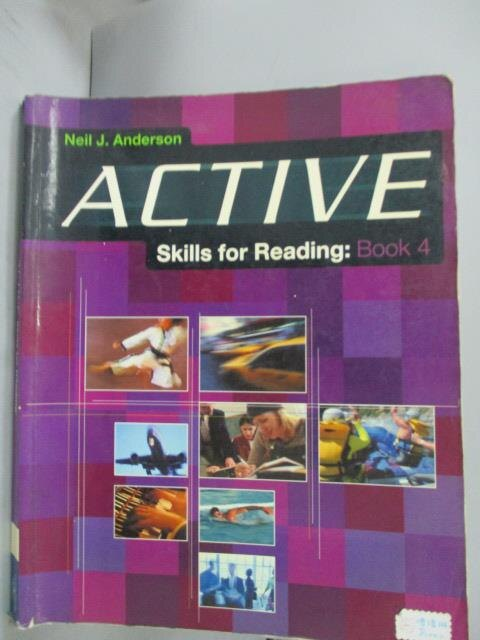 【书宝二手书T9/语言学习_YBK】Active Skills for Reading, Vol. 4