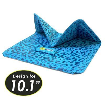 10.1吋平板電腦用折疊站立式保護套/支架(土耳其藍)【e2moro】
