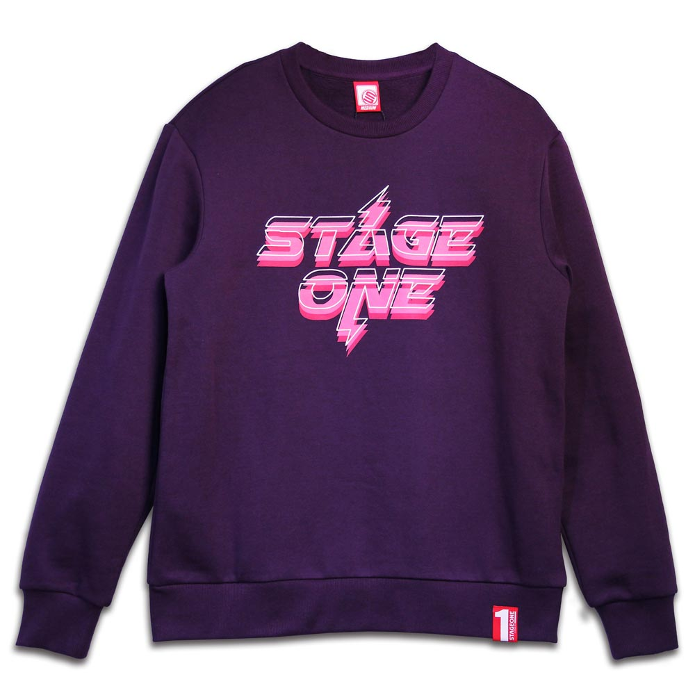 STAGEONE THUNDER SWEATER 黑色 / 深紫色 兩色 6
