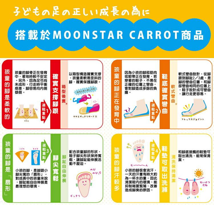 日本Moonstar機能童鞋 防水系列運動鞋 9295深藍(中大童段) 7