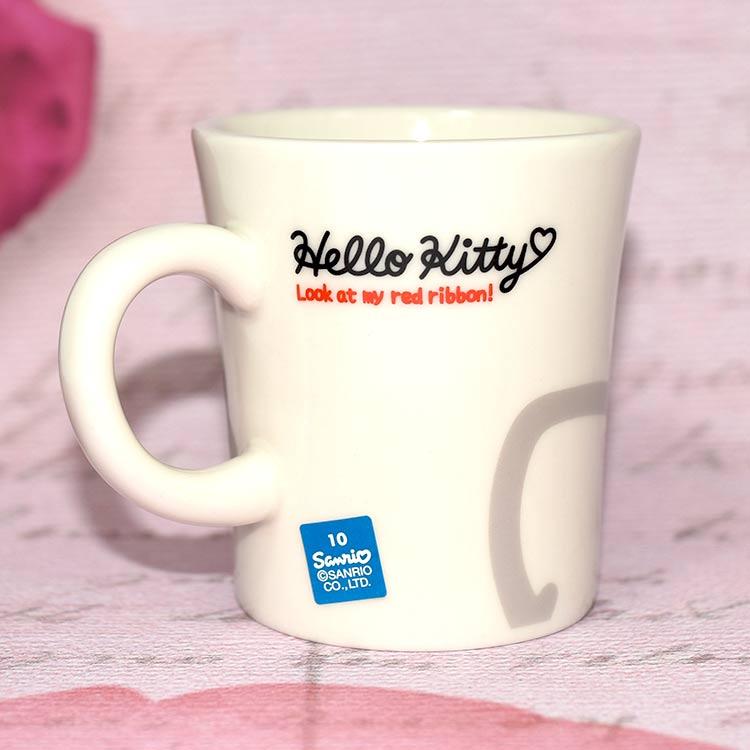Hello Kitty 陶瓷馬克杯 千禧年復古風格 日本製 45週年紀念限定