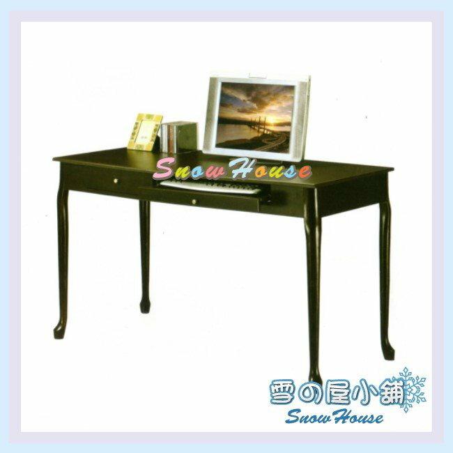 ╭☆雪之屋居家生活館☆╯AA122-10 CY-012荷朵內實木電腦桌/書桌/辦公桌/實木桌/和室桌/工作桌/事務桌