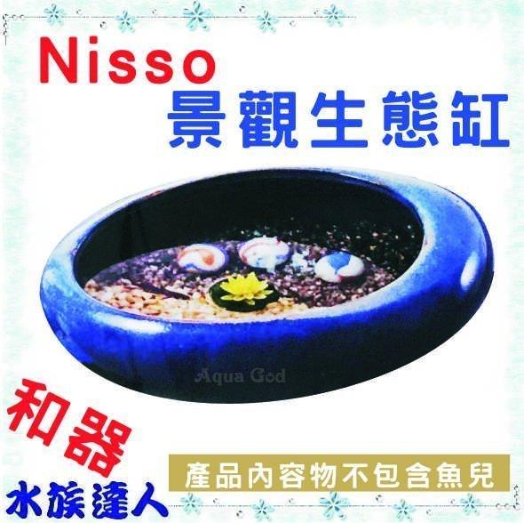 水族達人:推薦【水族達人】日本NISSO《景觀生態缸和器N-NWS-899》天然石淨水貼生態容器和風缸