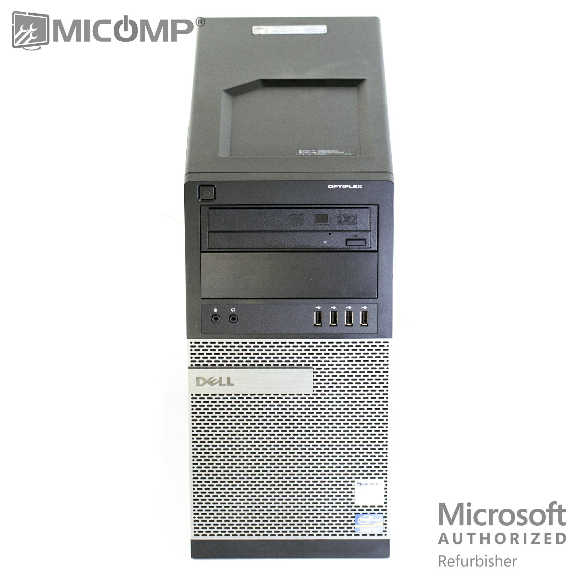Micomp Dell Tower Gaming Computer Pc Nvidia Gtx 1050 Ti 4gb