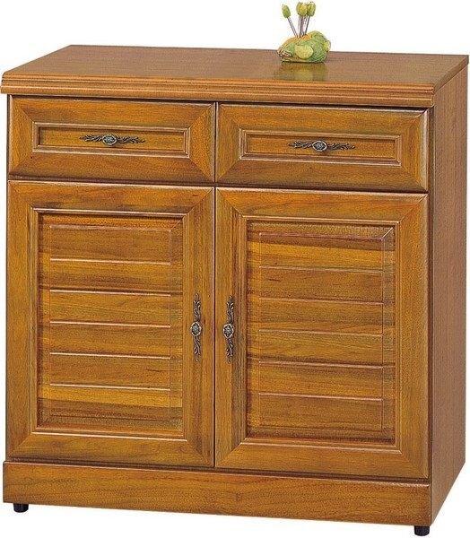 【石川家居】EF-327-4 施勝發正樟木2.7尺碗櫥櫃(下座) (不含其他商品) 需搭配車趟