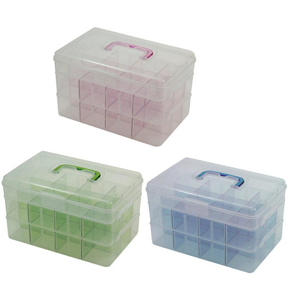 收納盒 佳斯捷JUSKU 3148 大彩藝家3層收納盒【文具e指通】 量販