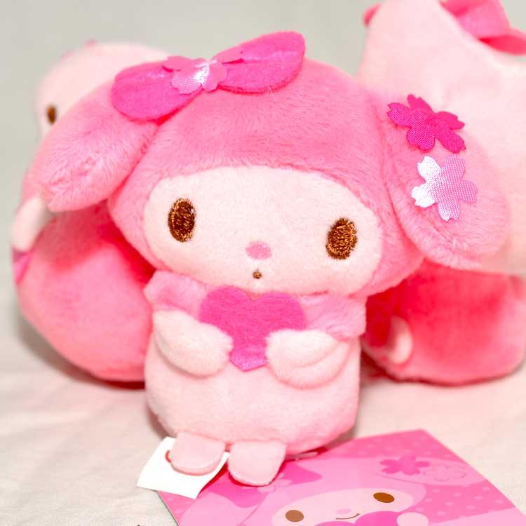 My Melody 美樂蒂 櫻花季節限定 小沙包玩偶 日本帶回正版品