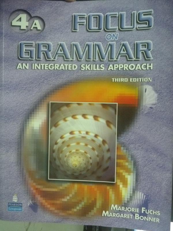【書寶二手書T6/語言學習_YFB】Focus on Grammar 4A_Fuchs.Bonner_附光碟