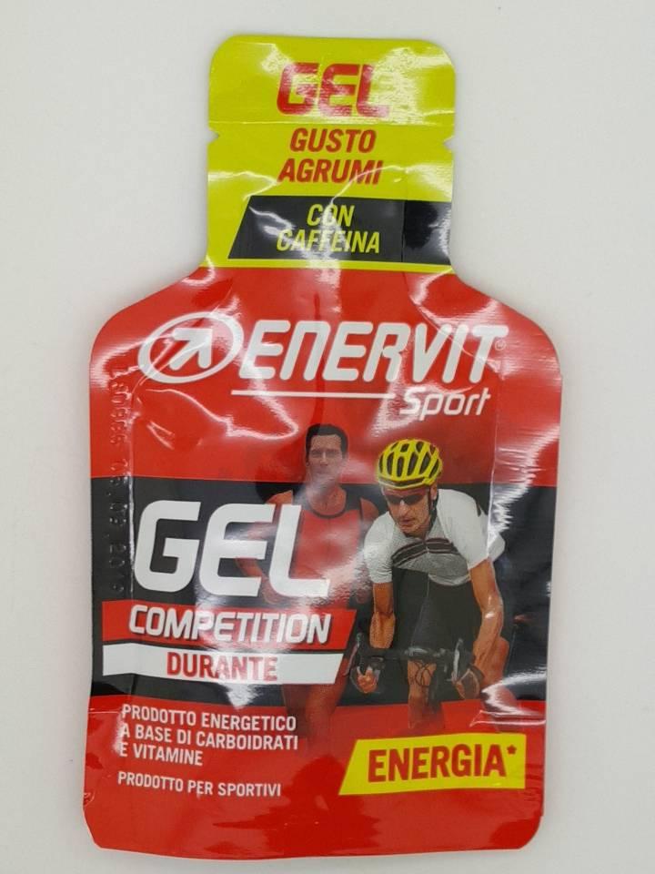 騎跑泳者-義維力 ENERVITENE SPORT GEL能量果膠(含咖啡因)(橘子)2019/09/05