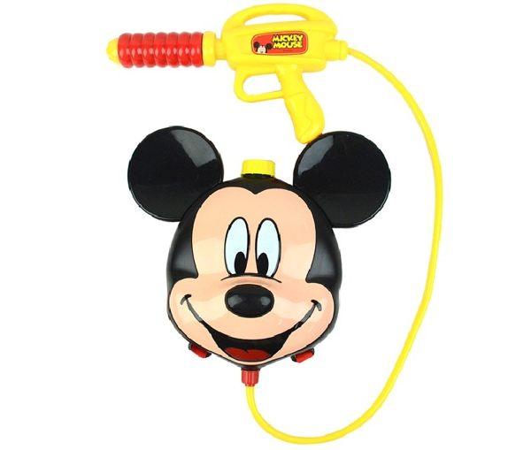 米奇背包水槍迪士尼夏日戲水水槍可愛卡通伯寶行