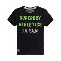 Superdry極度乾燥-男T恤推薦到跩狗嚴選 !24小時出貨! 正品 極度乾燥 Superdry Premium T-Shirt 貼布 Logo 深藍 短袖 上衣 純棉就在DryDog 跩狗嚴選推薦Superdry極度乾燥-男T恤