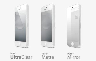 ^~NOVA成功3C^~SwitchEasy Pure iPhone 5 螢幕及機背保護貼