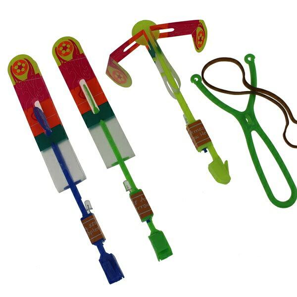 LED竹蜻蜓 大號LED彈射飛箭 發光竹蜻蜓 彈射竹蜻蜓(彈射型)/一袋12組入{定25}~YF11736