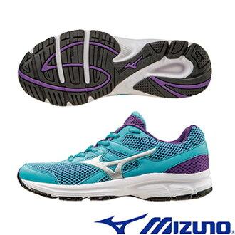 K1GA160406(粉藍X銀)一般型鞋款MIZUNO SPARK 女慢跑鞋 A【美津濃MIZUNO】