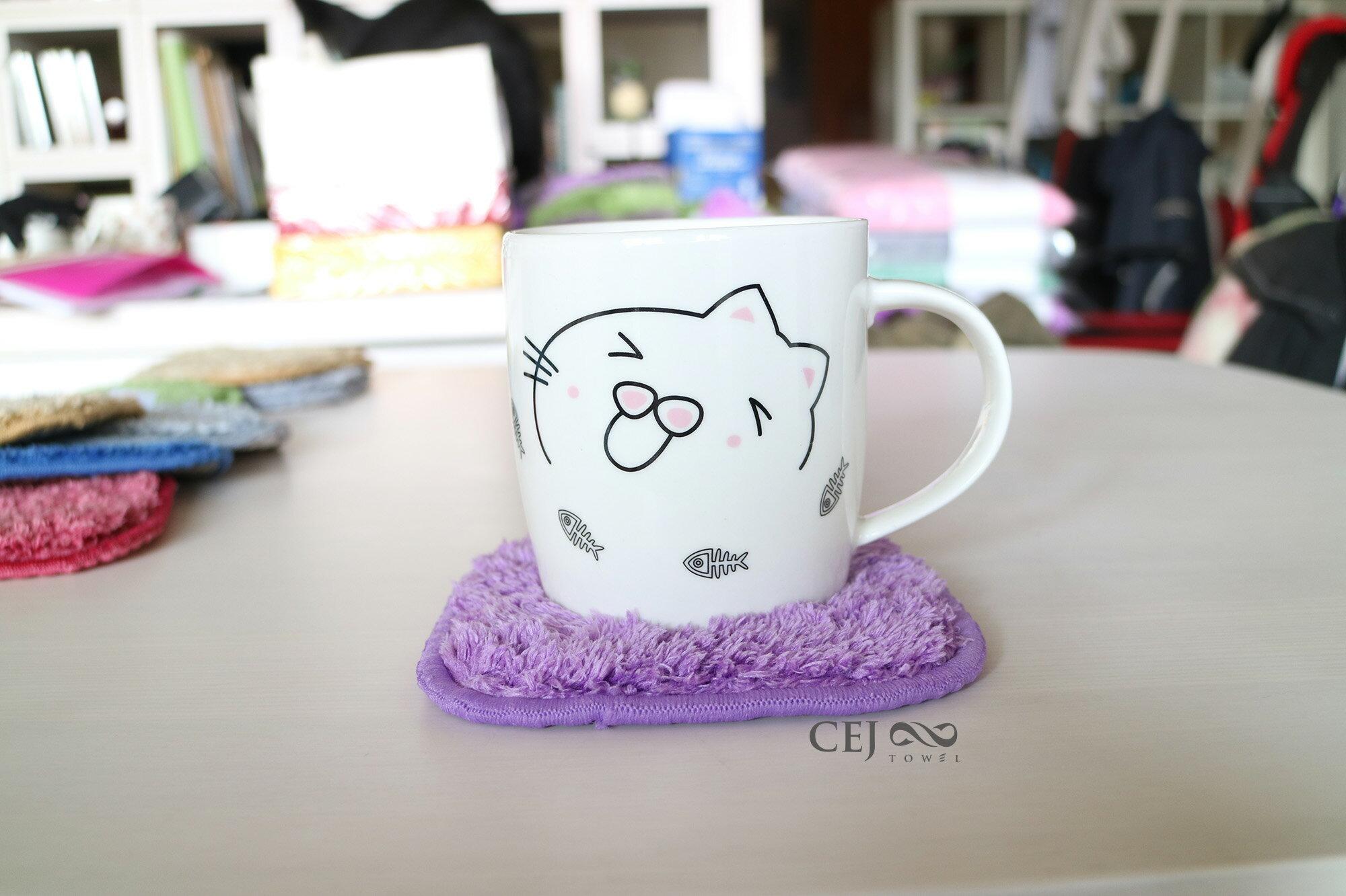 杯墊|吸易潔吸水毛巾系列|心坎禮、小禮品|吸水力超強、止滑