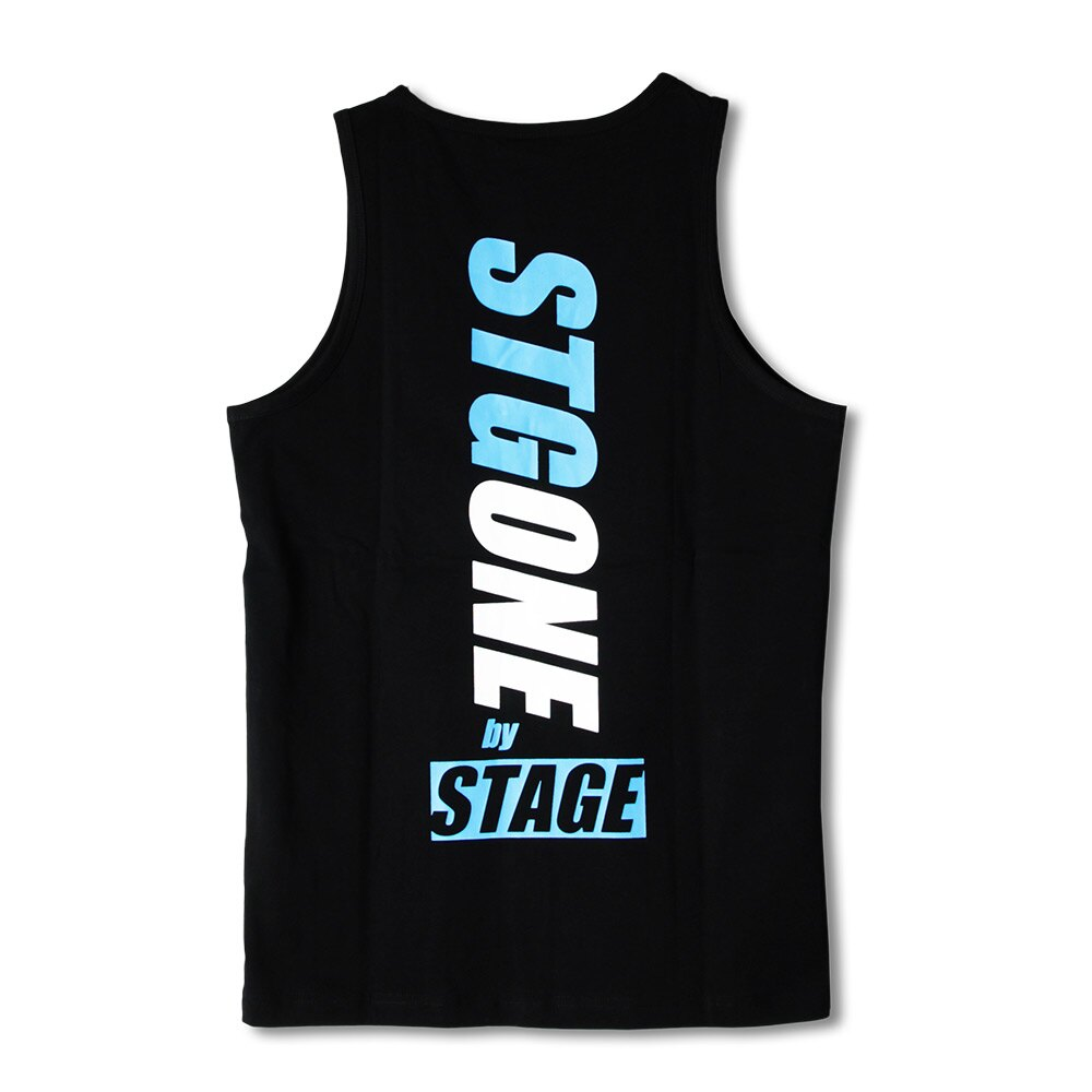 STAGEONE STGONE TANK TOP 黑色/紅色 5