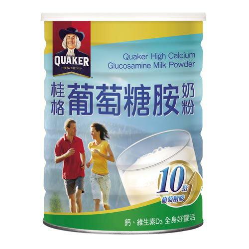 桂格葡萄糖胺奶粉1500g【愛買】