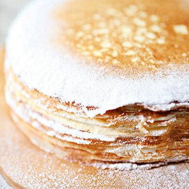 法式原味千層蛋糕 單片/8吋