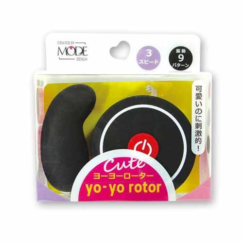 [漫朵拉情趣用品]日本MODE*yo-yo rotor(ヨーヨーローター)G-ブラックレッド 可愛造型G點跳蛋(紅+黑) DM-9131307