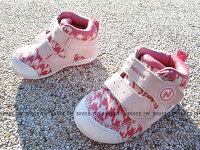 New Balance 美國慢跑鞋/跑步鞋推薦《下殺6折》Shoestw【FS123HXI】NEW BALANCE 123 學步鞋 童鞋 運動鞋 小童 千鳥格 粉白 中筒