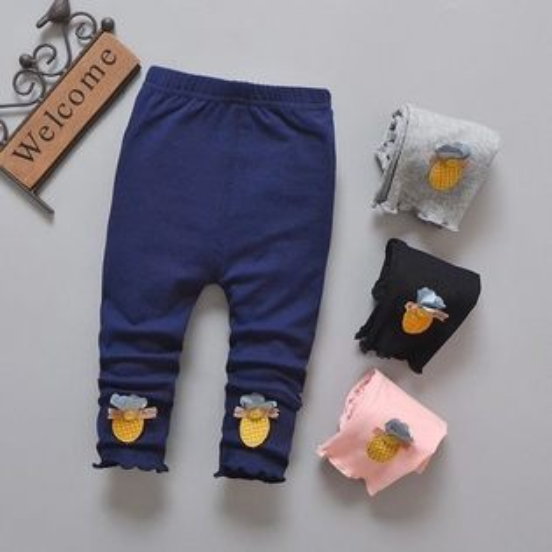 嬰幼兒長褲春夏內搭褲長褲棉褲九分褲童裝XZH23405好娃娃