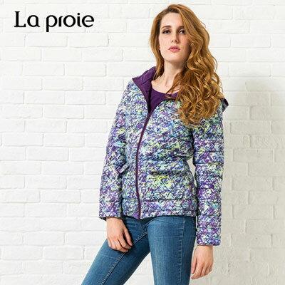 La proie 女式超輕印花羽絨服(兩色) 1
