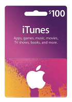 $100 iTunes Gift Card (PHYSICAL CARD)