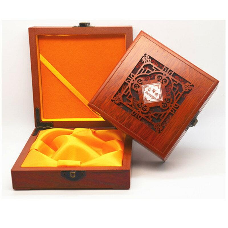 高檔佛珠盒木質金銀首飾玉鐲手鏈手鐲手串木盒復古鏤空珍藏品盒子