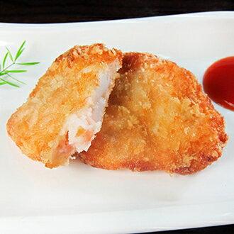 【真海派】黃金花枝蝦排 料多實在(300g±5%/5片裝)