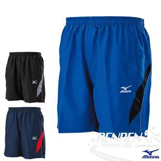MIZUNO 美津濃 平織網羽桌褲(法國藍) 單層無內裡平織網羽桌球短褲