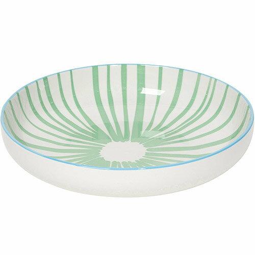 《NOW》圓型深餐盤(水草綠)