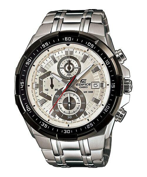 CASIO EDIFICE EFR-539D-7A流線賽車時尚流行腕錶/白面49mm