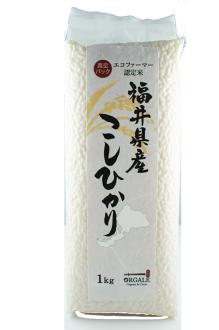 日本福井縣產越光米 1kg - Orgale日本全國的嚴選食材