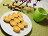[元寶糕]元寶造型精緻小巧好貴氣 綠豆與奶酥2種口味每盒24粒240元 1