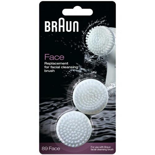 德國百靈 BRAUN SE89 潔膚儀刷頭 (2入)