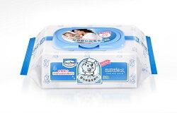 【Baan】貝恩 嬰兒保養柔濕巾-無添加 / Baby Wipes 80抽(3入)