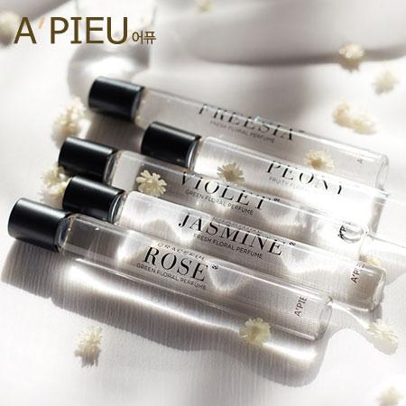 韓國 A  ^#27 PIEU 香氛滾珠香水瓶 10ml 小香水 滾珠 身體 香氛 滾珠香