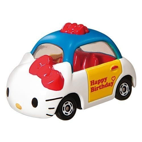 【真愛日本】14072400001 TOMY車-KT40th限定 三麗鷗 Hello Kitty 凱蒂貓 玩具車 擺飾品