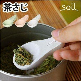 【超取免運】日本製 soil 珪藻土調濕 防潮湯匙 / 茶葉勺(大)*夏日微風* 4