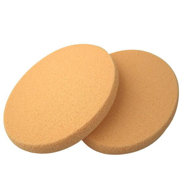 COSMOS A17兩用粉餅海綿 橢圓(2入) S30174《Belle倍莉小舖》