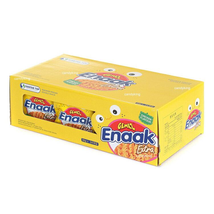韓國熱銷零食 Enaak 韓式小雞點心麵 30g 重量包 香脆點心麵 ( 大盒24入裝 )