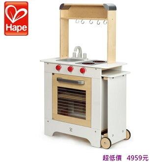 *美馨兒* 德國 Hape 愛傑卡-移動式點餐廚具台 4959元
