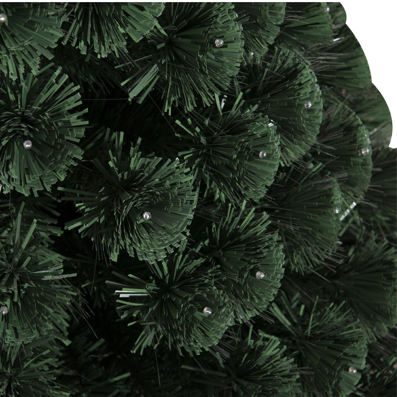 HomCom 3' Artificial Holiday Decoration Light Up Christmas Tree - Green 7