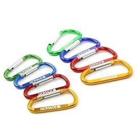 【【蘋果戶外】】AppleOutdoor 高質感7cm 『顏色隨機出貨』7號D字扣 D型扣 掛鉤 D型扣環 勾環 鑰匙扣 水壺扣 掛勾 D型環