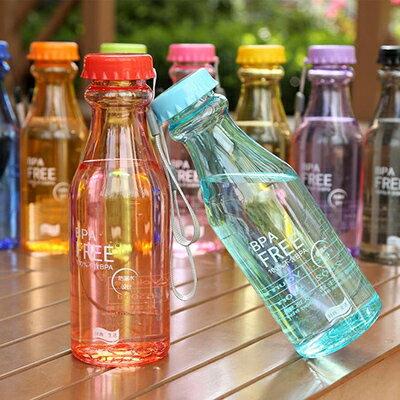 【省錢博士】神奇防漏塑料瓶 / 便攜摔不破汽水杯瓶子 / 密封運動水壼送掛繩 39元