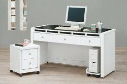 【MUNA】奧斯本4.7尺書桌(共兩色)(不含活動櫃和主機架)