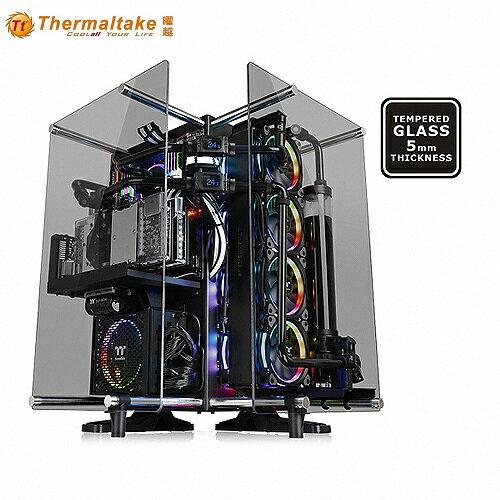曜越CoreP90TG開放式強化玻璃機殼
